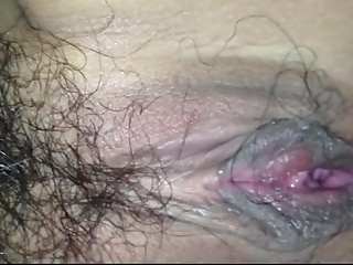 Chinese slut creampied by her boyfriend in hotel.