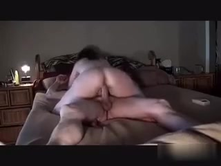 Part 1 shaking my cheeks riding a inflexible one .do u like how i ride it?