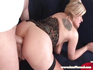 I am pierced Marina with pussy piercings anal sex