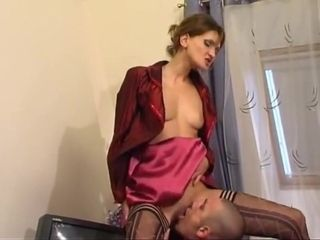 Piping hot MILF, Russian sexual congress motion picture