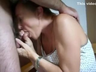First-timer plus-size does naughty bj and hand-job