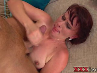 Mature Redhead Loves Cock Deep In Her Ass Hole