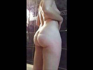 Sex-mad MILF almost transmitted to shower