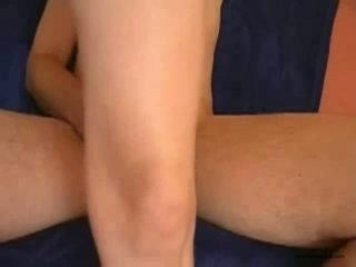 Busty hot white wifey riding huge white dick of her man