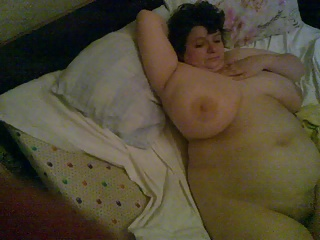 BBW Vanya naked play 4