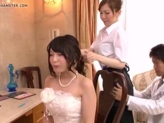 Hot Asian MILF cheats vulnerable eradicate affect born yesterday strife = 'wife' in advance weeding