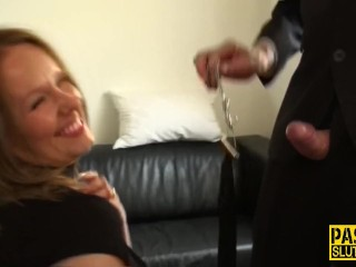 Obedient cougar plowed