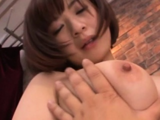 Giant jugged japanese superslut mounts stiff ramrod and rails it stiff