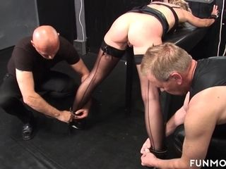 Marga on every side German Granny dabbler BDSM - FunMovies