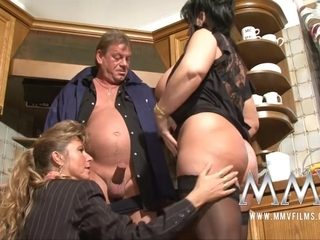 MMVFilms Video: Mature Threesome