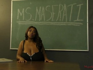 Obese mamma Maserati Femdom - hinge look up to & nuisance look up to
