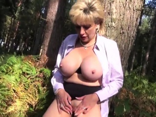 Cuckold english cougar gill ellis uncovers her monster orbs