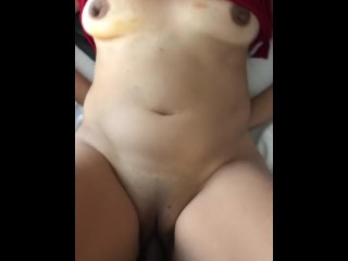 Homemade - My chinese cougar yelling and pleading to be banged stiffer