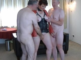 Hardcore gangbangparty with dutch rubens and 7 cocks: Part 1