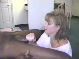 Housewife sucks bbc