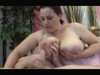 Mom with giant massive boobs & guy