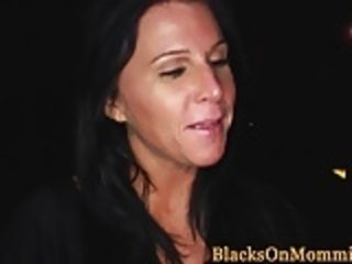 BBC hungry milf takes multiple black loads