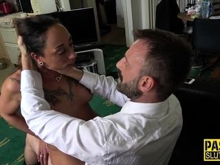 Throated milf hold a session pounded
