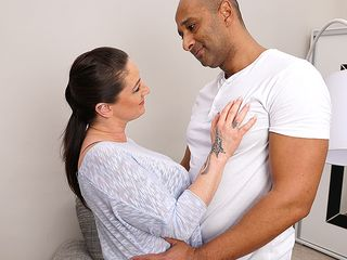 Nasty mature whore deep throating and humping black fellow