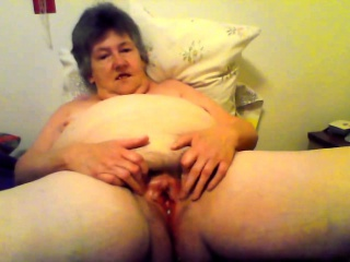 Hellacious by oneself involving simmering granny toying pussy