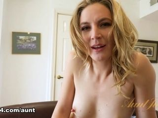 Mona Wales in unexperienced flick - AuntJudys