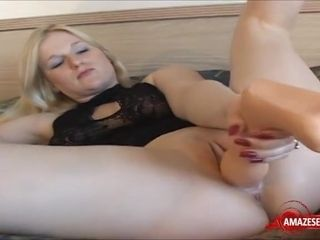 Inexperienced GILF Plays With ample faux pecker