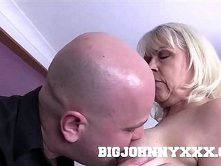 Grey Haired grubby aged 64 yr aged infatuating grandmother girl Sextasy plows youthfull Toyboy motel worker sans a condom! Hardcore aged bi-atch in st
