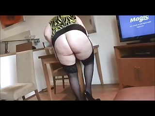 Mature Hairy with round Ass