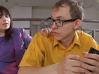 Russian BBW-Granny anal hard by puerile tramp