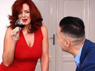 Red-hot milf Andi James boning and getting a squirting ejaculation