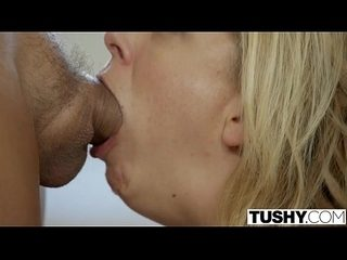 Cherie Deville - anal gaped by boss