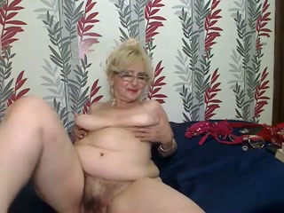 Super perverted granny shows what she can do