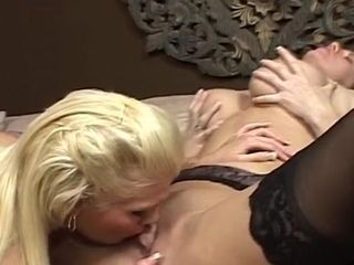 Awesome girl-girl Mature & cougar hard-core sequence