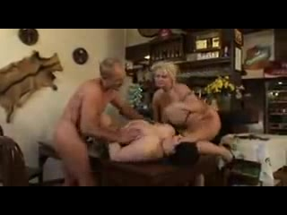 Plumper matures groupsex