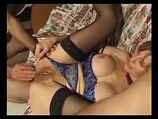 French Mature Gets Fucked And Fisted