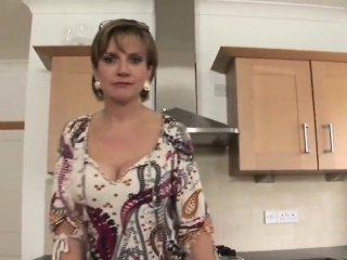 Adulterous british milf lady sonia shows her large jugs