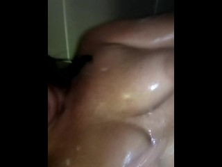 Shower check out sauna