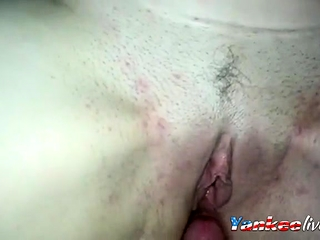 Close up point of view poke internal ejaculation