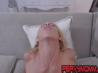 Big-chested cougar point of view titfucks