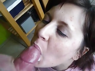 I cum in mouth my wife