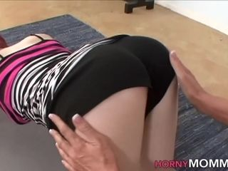 Stepmoms pussy rubbed