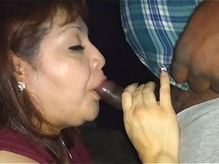 Rae Lynn working a big black cock