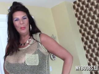 Huge-chested milf Lulu chubby jack and Jerk Off Instructions