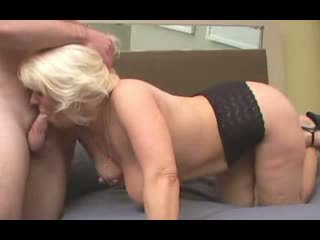 Mature April can't get enough of sucking cock