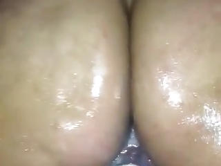 Wet ride on my cock
