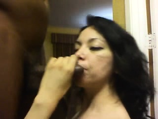 Tough blow job with girl that is Latin