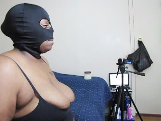 BLACK MILF PUSSY FOUNTAIN SUCKS N STROKES A COCK UNTIL IT EXPLODES ON HER