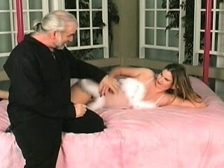 Dilettante playgirl with good body hard-core restrain bondage