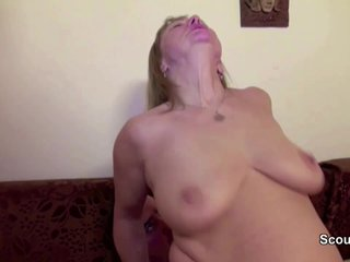 Mother and Dad in Real Porn Casting fo Money