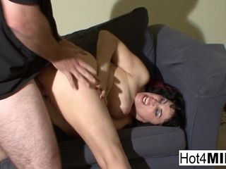 Big-titted cougar Claudine screws Her stud On Camera - Hot4cougar